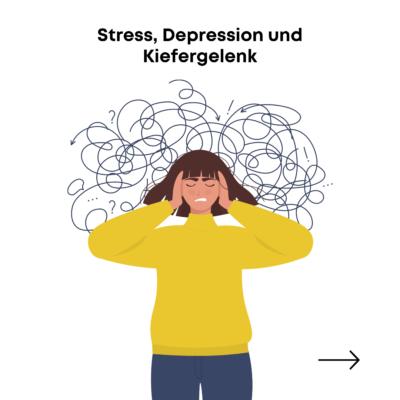 Stress Depression Kiefergelenk