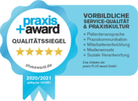 Praxis Awards Qualitätssiegel