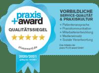 Praxis Awards Qualitätssiegel