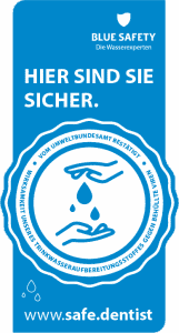 Blue Safety Siegel. Klicken zum Vergrößern.