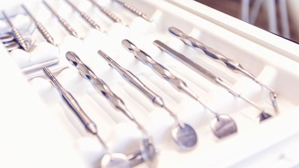 Kieferorthopäde Instrumente